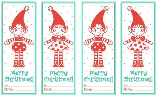 Noël toi-même ! J-28: faire ses étiquettes cadeaux - Webzine Café ...