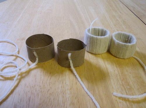 Decoration Noeud Marin : Noël toi même j fabriquer des ronds de serviettes