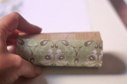 Faire des bo tes cadeaux avec des rouleaux de papier - Comment faire papier cadeau ...