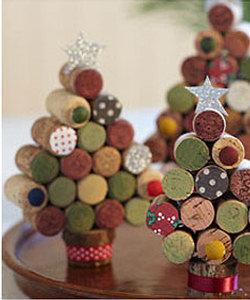 recyclez vos bouchons faites des d corations de no l webzine caf du web. Black Bedroom Furniture Sets. Home Design Ideas
