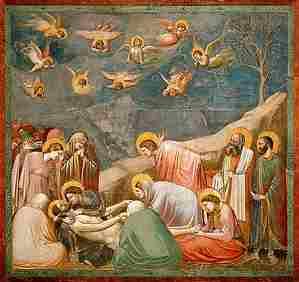 Giotto: La complainte du Christ mort