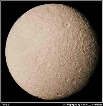 Téthys, 9 ème lune de Saturne  par Pionner 2