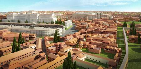 Visite de la rome antique en 3d webzine caf du web - La cuisine de la rome antique ...