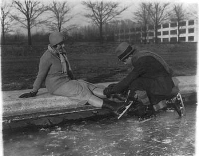 Paires de patineurs datant