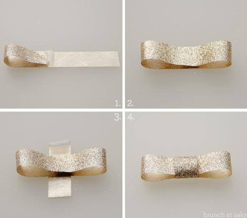 No l toi m me j 2 emballer les cadeaux webzine caf - Comment faire un noeud avec un ruban ...