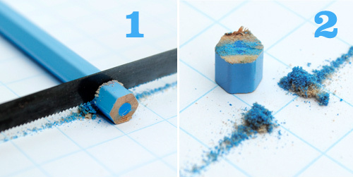 Comment recycler vos crayons de couleur en bijoux - Comment percer du verre ...