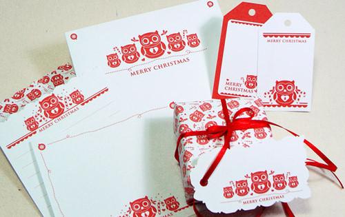 noël toi-même ! j-28: faire ses étiquettes cadeaux - webzine café