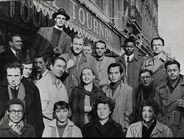 Montparnasse dans Les poètes Tournon_1954_Paris_Review_250211